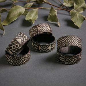 Cana Flecha Bracelet – Black