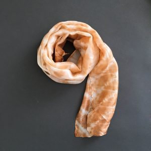 The Kimberley Scarf – Orange Wavelet