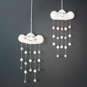 Chloe Cloud Wall Hanging