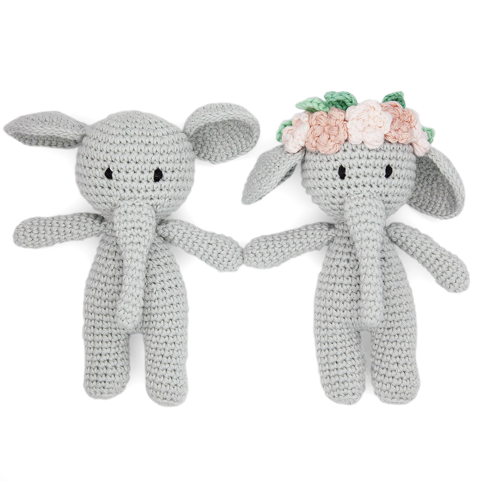 handmade fairtrade handmade bunny crocheted teddy