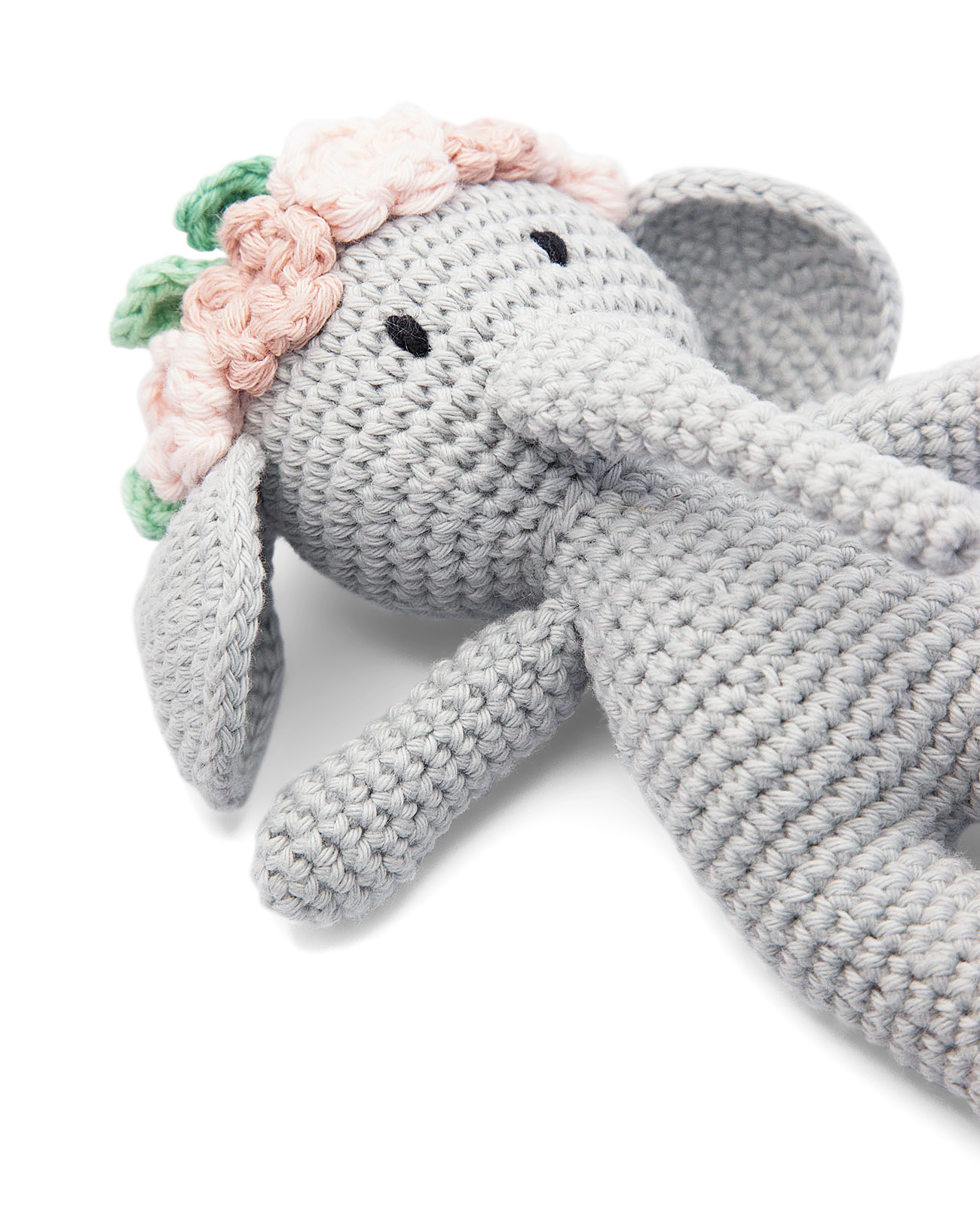 handmade fairtrade handmade bunny crocheted teddy