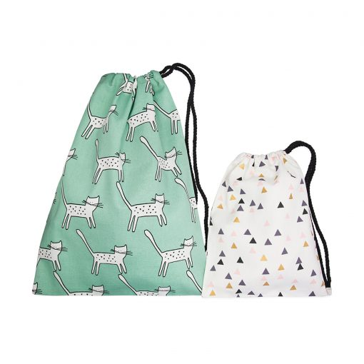 ethical gifts, kids drawstring bags, adult drawstring bags, fairtrade, made in australia, australian made, made locally, artisan, handmade, hand stitched, kids stylish unique gifts