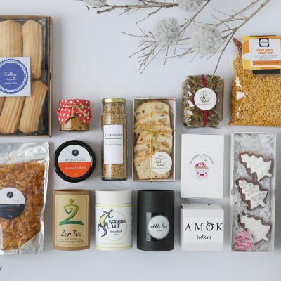 The Happiness Box Flat Lay