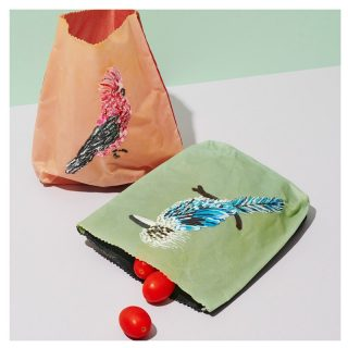 Think green 🌎🌿🌱🌳  Dream Forest Studio - Victoria #BackHerBrilliance  Dream Forest studio makes unique beeswax bags and wraps that are hand made . Perfect for keeping your yummy food fresh for longer . We use organic paint and cotton then dip in our special beeswax mix To help keep your food and snacks crisp and delicious  Shop now on our Marketplace!