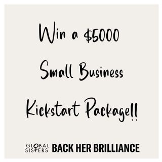 "WIN!!! SMALL BUSINESS KICK START PACKAGE WORTH OVER $5000! We are celebrating International Women's Day 2021 this March - Link in bio!  We celebrate women every day here at Global Sisters but this month we've got something extra special for you - We are all about #MakingBusinessPossible for women facing barriers starting their own businesses. And what better way to kick start your journey to financial independence with a Small Business Kick Start Package worth over $5000*! Follow the link below and go in the draw!  For your chance to win follow these 3 EASY STEPS - link in bio:  1. Describe in 25 words or less what ""Making Business Possible"" means to you AND 2. Send in a 10 second video (shot on phone camera, good lightning, no background sounds) OR photos of: ""How is having a business going to impact your life?"" 3. Sign up to Global Sisters Marketplace  Link in bio!"