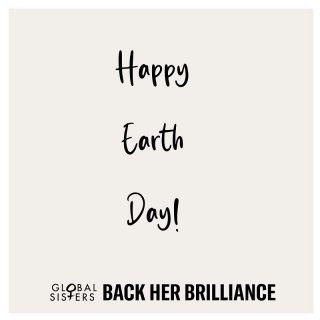 """Happy #EarthDay! 🌎 It's important to remind the world that the Earth is worth celebrating and that there are things we can do to help make the world safer for future generations. 💚  Global Sisters core value of """"Business Done Differently"""" means that we championgood business, both as an organisation ourselves and as an organisation that supports women-owned businesses. We believe in business that is: •Environmentally sustainable: reducing our impact on the environment with a key focus on energy efficiency, water stewardship, and the reduction and recycling of waste. •Good for people: ethical sourcing by driving positive social and environmental change through our supply chain. •Kind to animals •Considered and community minded in its growth.  Remember to do your bit today and everyday !"""